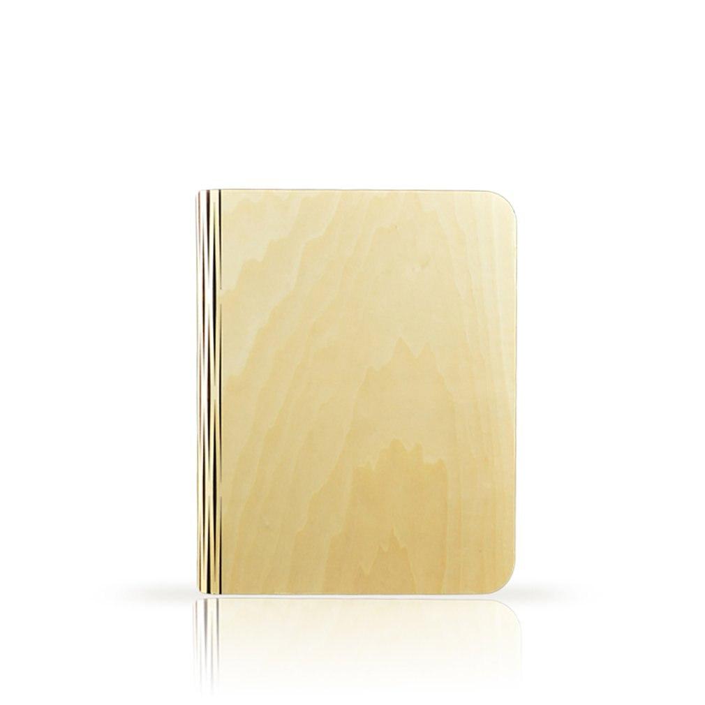 Креативный светодиодный книжный светильник, деревянная портативная книга оригами светильник, зарядка, декоративный складной прикроватный