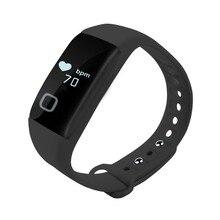 T1 Водонепроницаемый Смарт Браслет Спортивные Bluetooth ЧСС Мониторы SmartWatch Фитнес трекер для iPhone IOS для Samsung