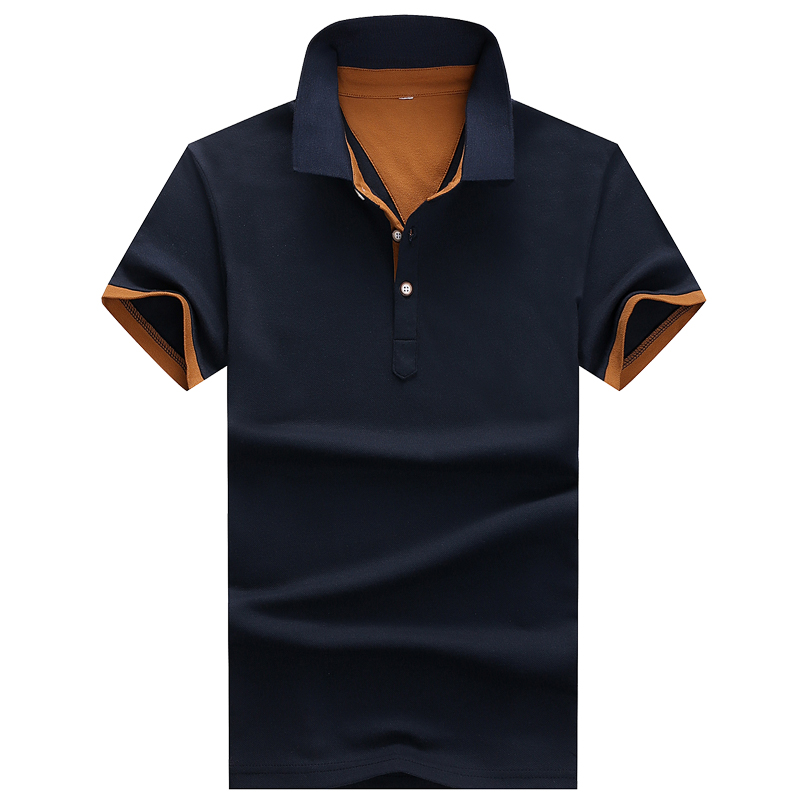 Poloshirts Men Cotton New Polo Shirts For Men Casual Brand Clothing Business Male Breathable  Mens Summer Polos Para Hombre C22