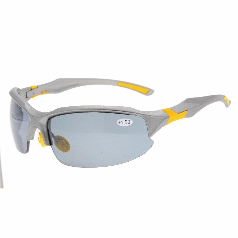 Image 4 - TH6188 Bifocal Eyekepper TR90 Unbreakable Sports Sunglasses Bifocal Sunglasses Half Rimless Reading Glasses-in Men's Reading Glasses from Apparel Accessories on AliExpress