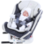 360 Degree Swivel Covertible Baby Car Seat Child Car Safety Seat Isofix Latch Connection 0-12 Years Baby Booster Car Seat ECE