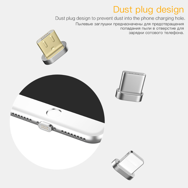 PZOZ Magnetic Cable Micro usb Type C Fast Charging Adapter Phone Microusb Type-C Magnet Charger usb c For iphone Samsung xiaomi