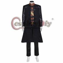 Cosplaydiy Farscape Cosplay Costume Commander John Robert Crichton Jr Coat Suit Adult Men Outfit For Halloween Custom Made