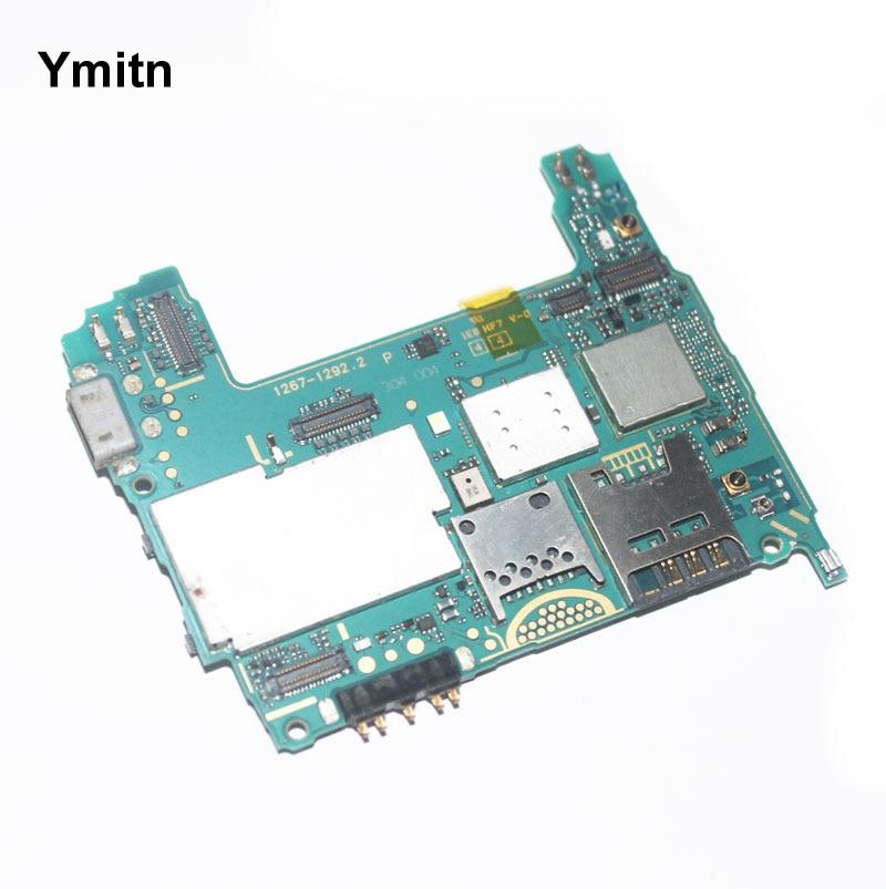 Ymitn Logement Mobile Électronique panneau carte mère Carte Mère Circuits Câble Pour Sony xperia TX LT29 LT29i