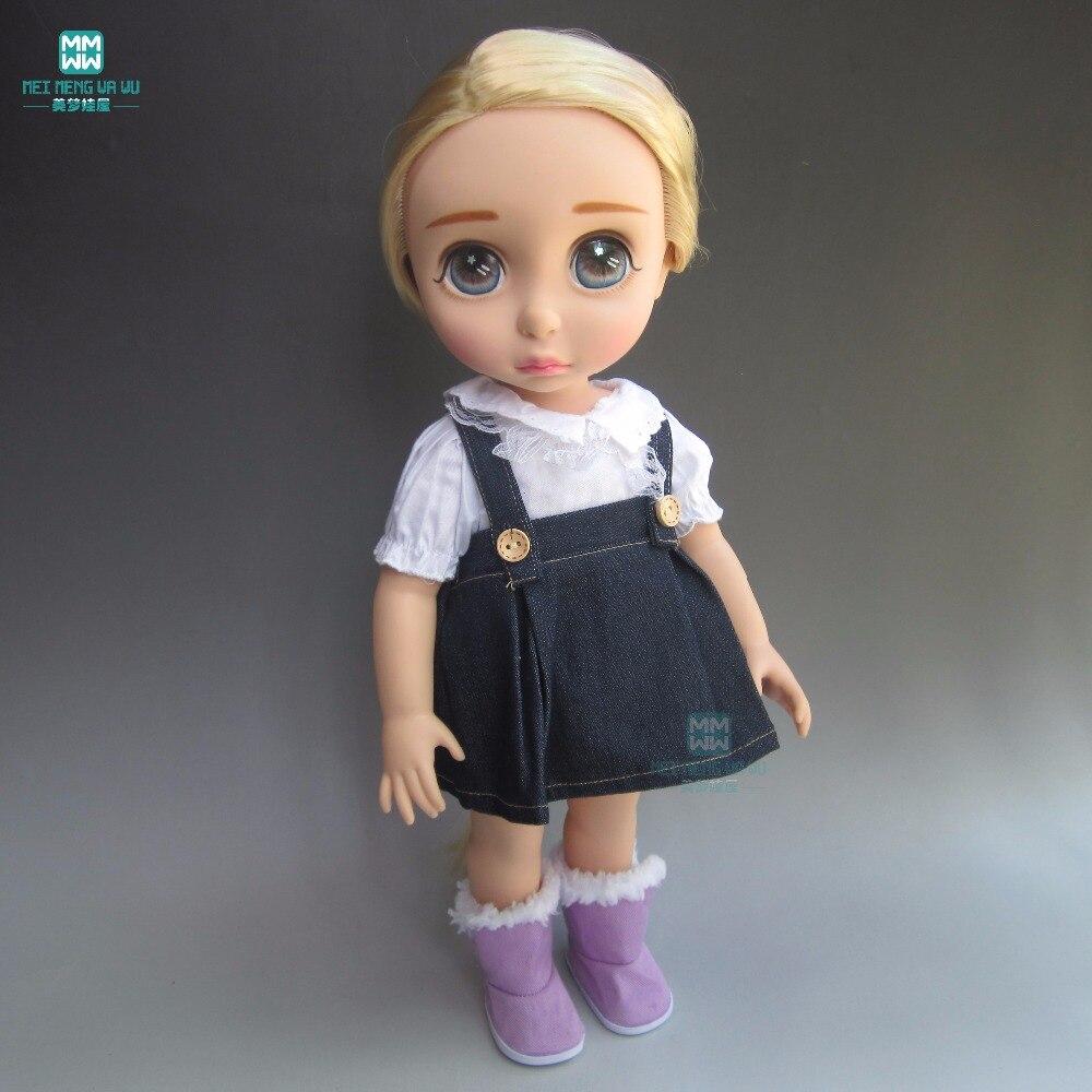 Doll kläder till 40cm Anna Elsa Sharon docka Tillbehör Vit skjorta - Dockor och tillbehör - Foto 5