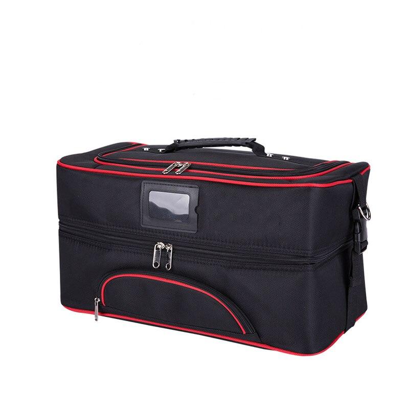OKOKC grand sac de maquillage voyage Portable mode sac à main femme professionnel cosmétique sac cosmétiques étui maquillage sacs