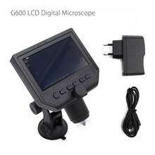 Cheapest prices G600 Digital Portable 1-600X 3.6MP Microscope Continuous Magnifier with 4.3inch HD LCD Display