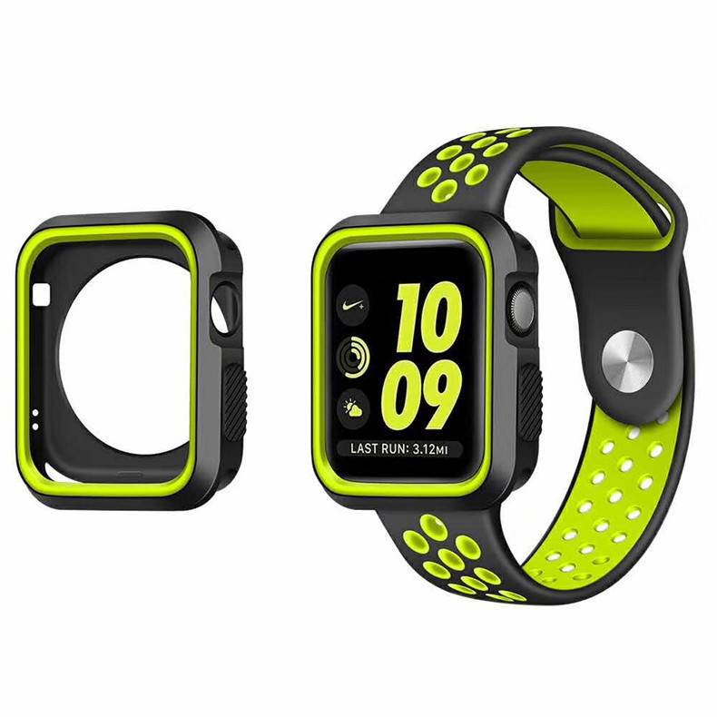 360 Degree Slim Watch Cover For Apple Watch 4 44mm 40mm Case Soft Clear TPU Screen Protector For IWatch 4 Series Protective Case
