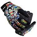 Guantes de moto de los hombres/de las mujeres de impresión de la marca 46 de la motocicleta motocross guantes racing moto guantes al aire libre fuera de la carretera guantes gants moto