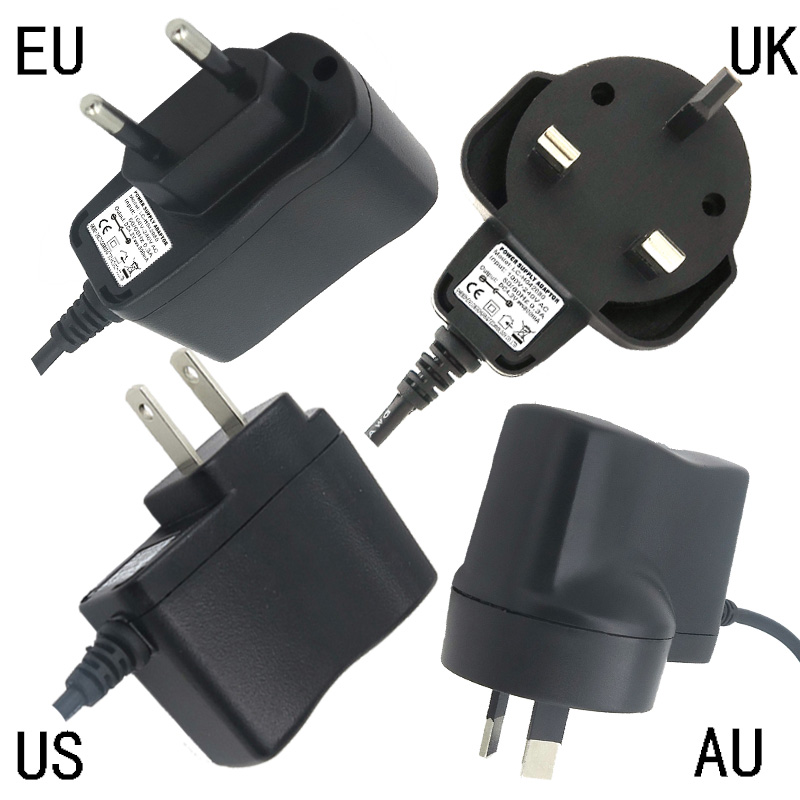 New AC 100 240V to DC 4.2V 800mA Power Supply Adapter Universal Charger US/EU/UK/AU Plug 5.5*2.1mm for LED Light Fast Shipping|eu to au plug|ac dc universalus charger - AliExpress