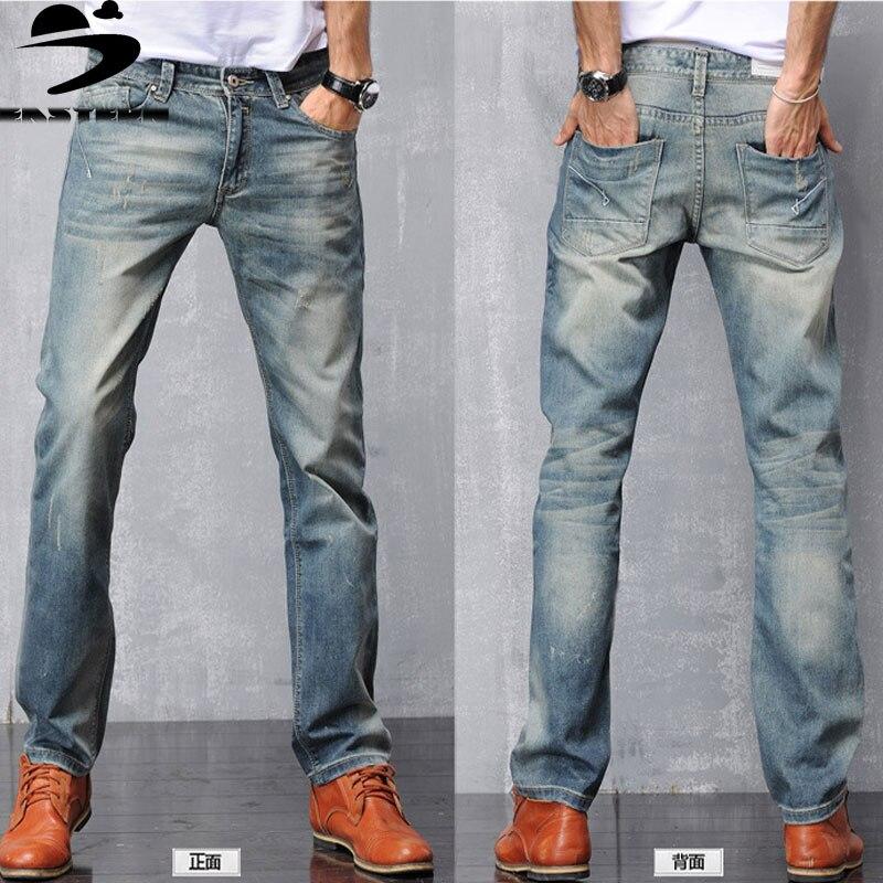 2016 new Designer Jeans Men denim pants long trousers men summer jeans cotton trousers top denim
