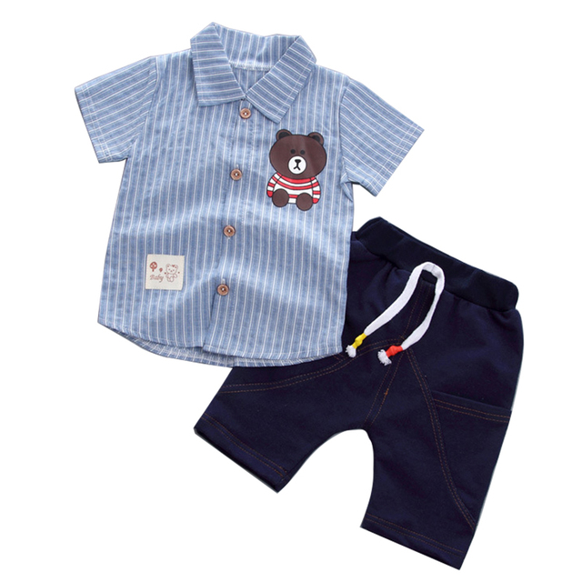 64f15fc9a2363 US $6.98 30% OFF|Kids Clothes For Boys Clothing Sets 2019 Summer Toddler  Boys Clothes Set Outfits Boys Sport Suit Children Clothes 1 2 3 4 5 Year-in  ...