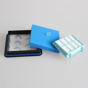 Image 3 - 15 Kits de filtres lavables en mousse pour moteur Philips alimentation Pro Compact FC9331/09FC9332/09 FC8010/01 aspirateur de rechange