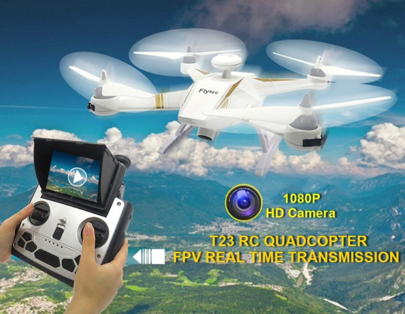 New professional aerial RC quadcopter T23 brushless dual <font><b>GPS</b></font> auto <font><b>follow</b></font> 1080P wide camera 5.8G FPV monitor RC <font><b>drone</b></font> vs <font><b>X183</b></font> B2W image