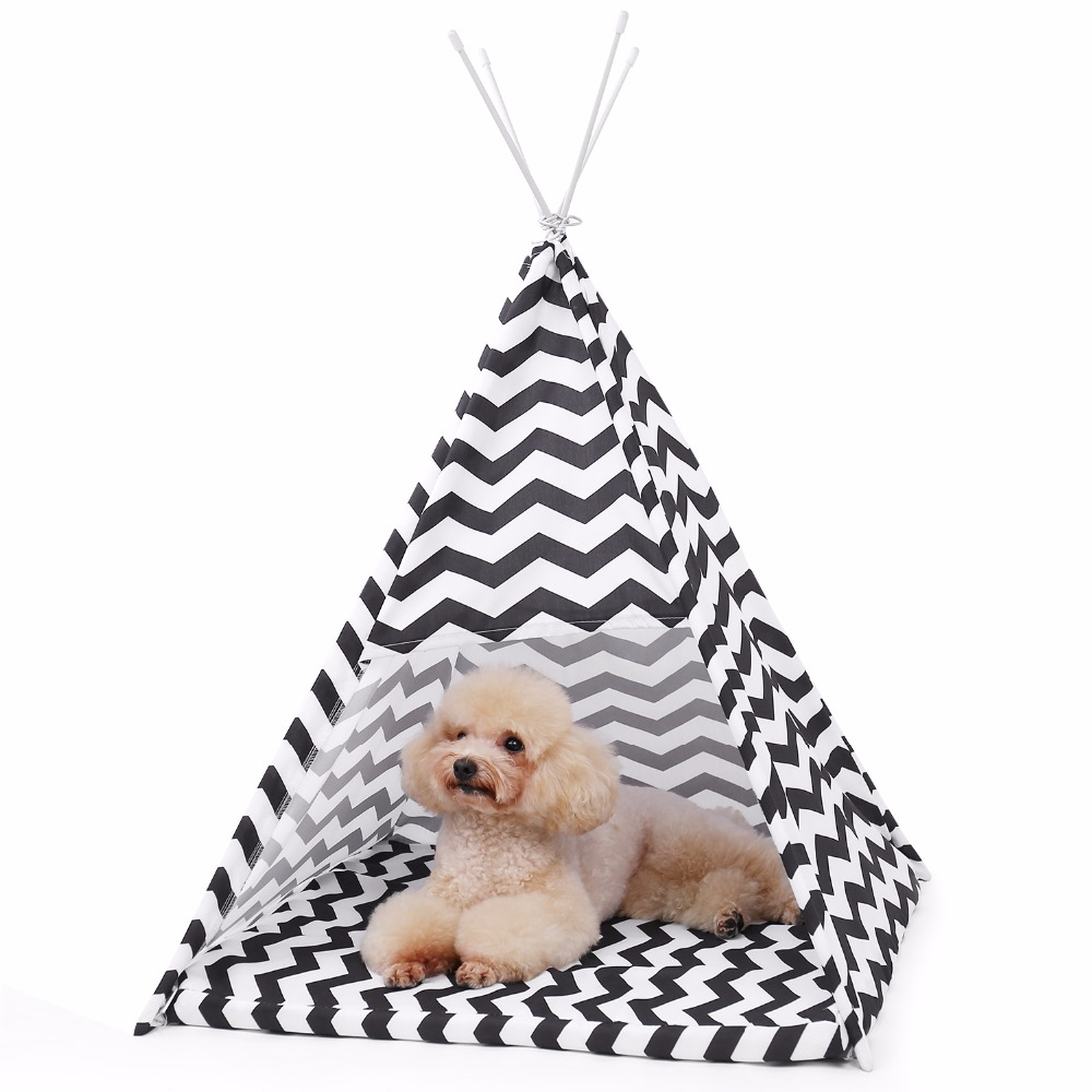 Pet House Tent Shaped Pet Cozy House Cat Home Small Dog Cat Foldable Bed Cat House Puppy Kitten Bed Animals Home Products 13