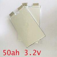 3.2v rechargeable battery 50Ah LiFePO4 li polymer cell for 12V 50A battery pack e-bike UPS Power convertor HID solar light