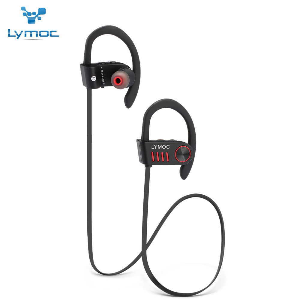 Lymoc M5 Sport Bluetooth Headset Noise Cancelling Wireless Earphone Phone Handsfree Auriculares Headphone for Motorcycle Running dbigness bluetooth headset headphones noise cancelling earphone bluetooth 4 1 fone de onvido in ear sport headphone handsfree