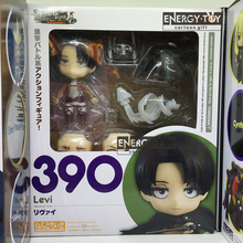 2styles #375 #390 Cartoon Attack On Titan  Eren Yeager Levi pvc action figure doll model toy