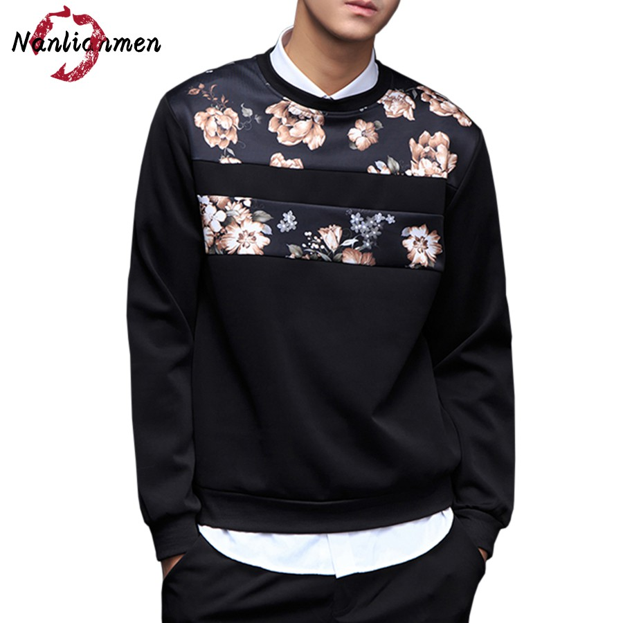 Popular Floral Sweatshirt Mens-Buy Cheap Floral Sweatshirt Mens ...