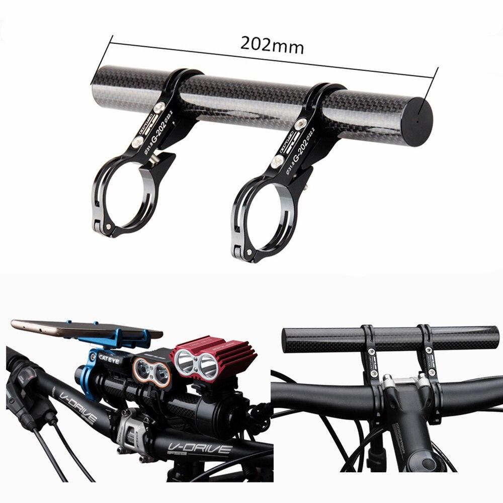 Road Bicycle Bike Handlebar Extension Mount Carbon Fiber Extender Holder LT