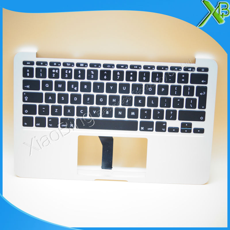 New TopCase with UK Keyboard for MacBook Air 11.6 A1465 2013-2015 years new topcase with no norway norwegian keyboard for macbook air 11 6 a1465 2013 2015 years