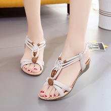 Women Sandals Bohemia Style Wedges Shoes For Women Summer