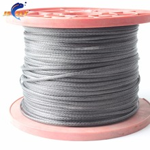 JEELY 10m 1300lb extreme strong SL UHMWPE fiber braid spearfishing flat version 2.3mm 16 strands