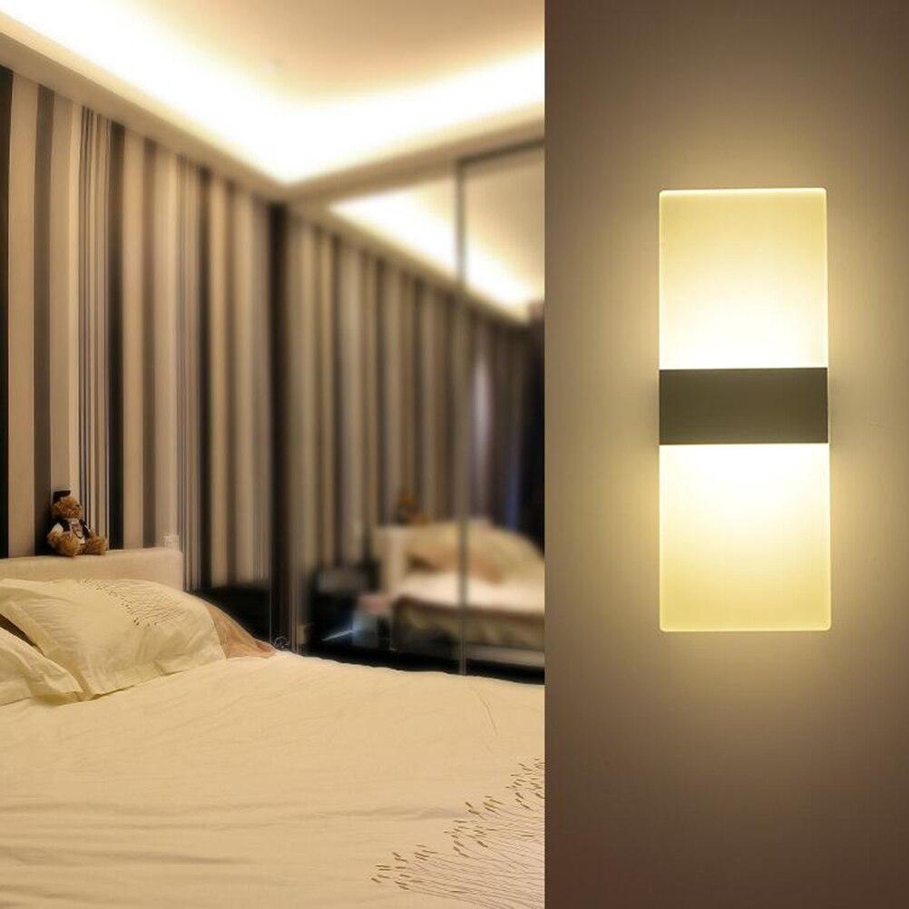 ᗔAC 90-265 V 8 W led wandlamp badkamer licht hoge kwaliteit Kristal ...
