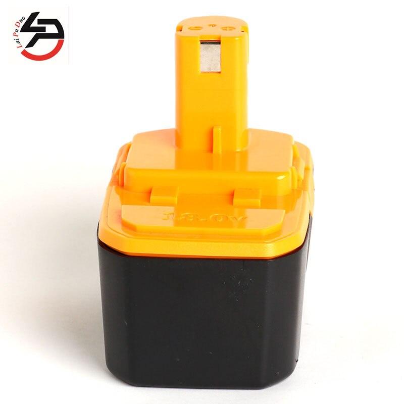 Pour batterie d'outil électrique Ryobi 18 V 3000 mAh 1400672/B-1815-S/1322401/1323303/1322705/130224007/130256001//B-8288/BCHI-18