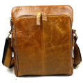 Genuine Leather Bag Cowhide Shoulder Men Bags Luxury Leather Messenger Crossbody bags Brown Travel Bag YS1315