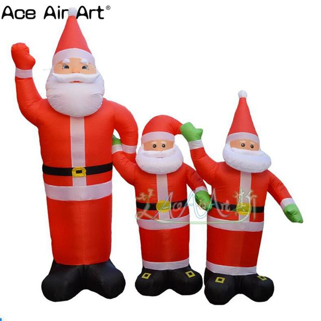 inflatable Christmas decoration on sale / advertising inflatable Christmas  old man family for holiday ornament - Inflatable Christmas Decoration On Sale / Advertising Inflatable