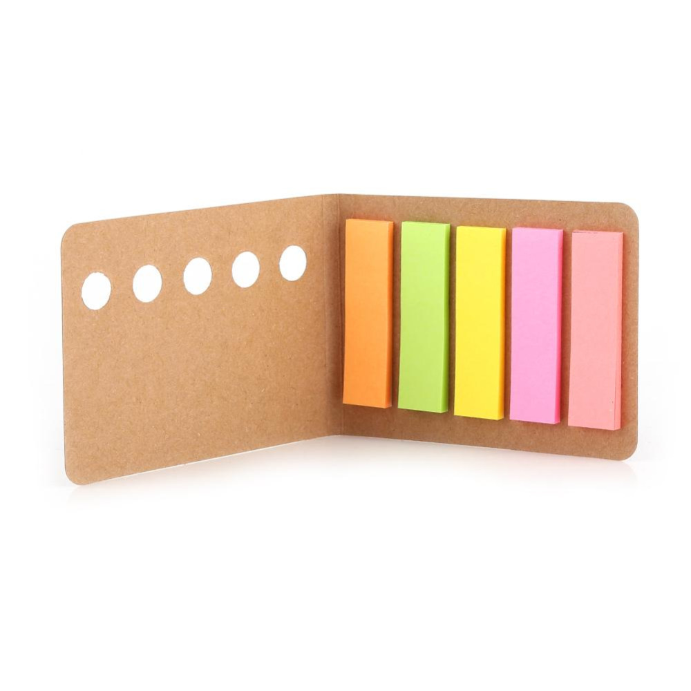 Stationery Stickers Learned 5 Colors 24 Pages Sticker Sticky Notes Memo Note Desk Organizing Gadget Set Index Bookmark Tab Memo Pad Gift School Supplies Be Shrewd In Money Matters