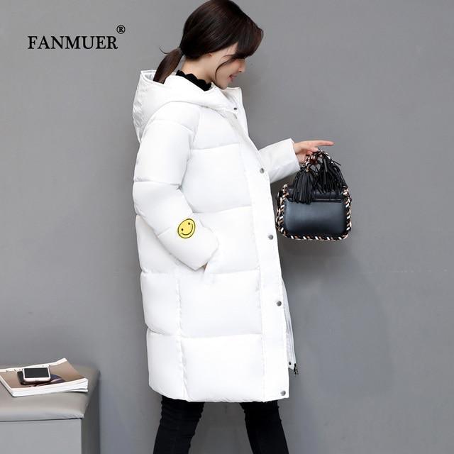 2017 winter jacket womens long cotton-padded womens clothing  jacket parka female wadded jacket outerwear plus size winter coat