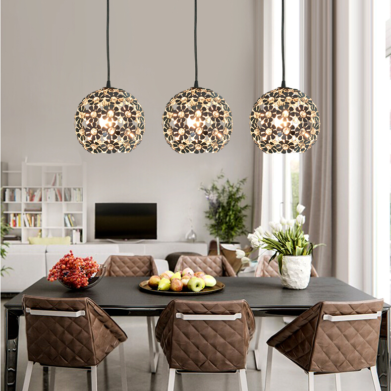 Beautiful Silver Flower Crystal pendant lights Fixtures Aluminum Hanging Pendant Lamp Crystal Light for Dining Bedroom beautiful darkness