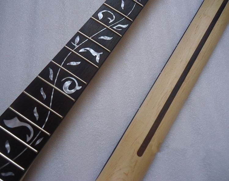 disado Muziekinstrumenten 22 Frets inlayTree of Life esdoorn - Muziekinstrumenten - Foto 2