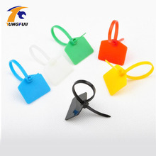 TUNGFULL 100pcs 3*120mm Nylon  Label Tag Tie  Network Cable Identification Mark Signs Ties Nylon Straps Label Tag Tie