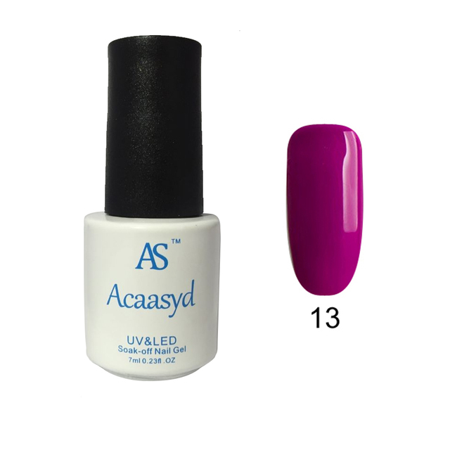 Acaasyd Nail Gel for Nail Art Full Set UV Gel Kit Manicure Colorful Gel Lacquer Special Offer Gel Nail Polish
