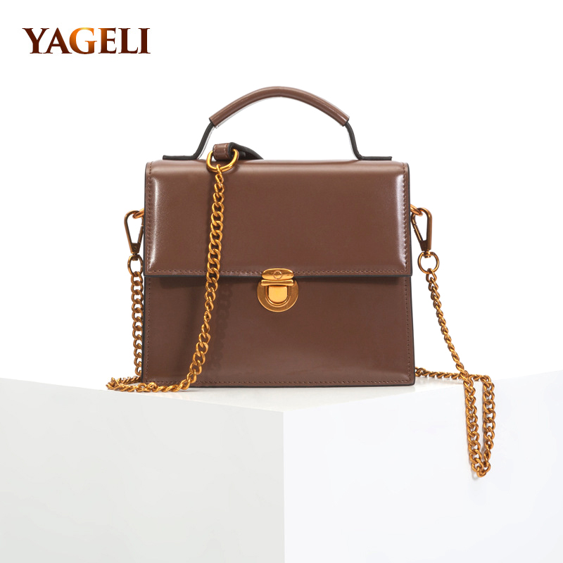 genuine leather handbags women bags designer crossbody bags fashion ladies chain shoulder bags famous brand women tote bags 100% genuine leather women bags famous brand women messenger bags first layer cowhide shoulder bags women ladies handbags