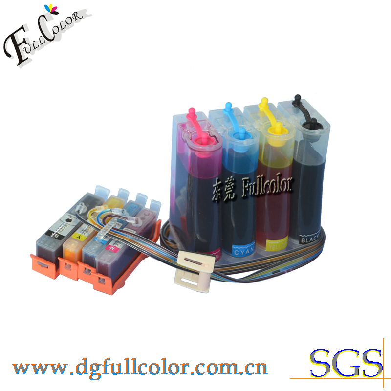 Compatible CISS hp564 ink system for deskjet 3070A with new permanent chip and inks boker da33 440c