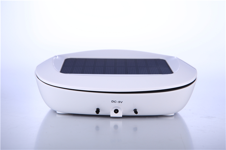 Mini car air purifier solar air purifier air humidifier Cigarette Smoke Absorber Car Purification