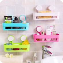 Multi-function Bathroom Wall Mounted Cosmetic Comb Rack Space PP Shelf Storage Organizer Hairdryer Holder Bathroom tool