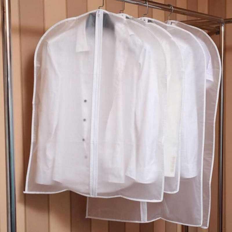 Abiti caldi appesi indumento abito abiti abito cappotto parapolvere borse trasparenti per armadio