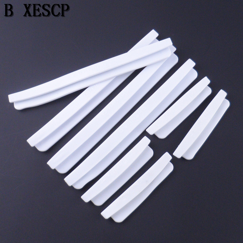 BXESCP New 8 Pcs / Set Car SUV Side Door Edge Protector Protective Stripes Clear Protective Bumper Guards Handle Cover