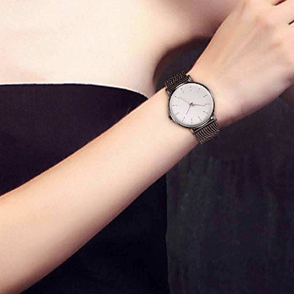 Superventas AP Vacuum Plating Correa impermeable moda tendencia Reloj Simple hombres y mujeres Neutral estudiante amantes del reloj de cuarzo