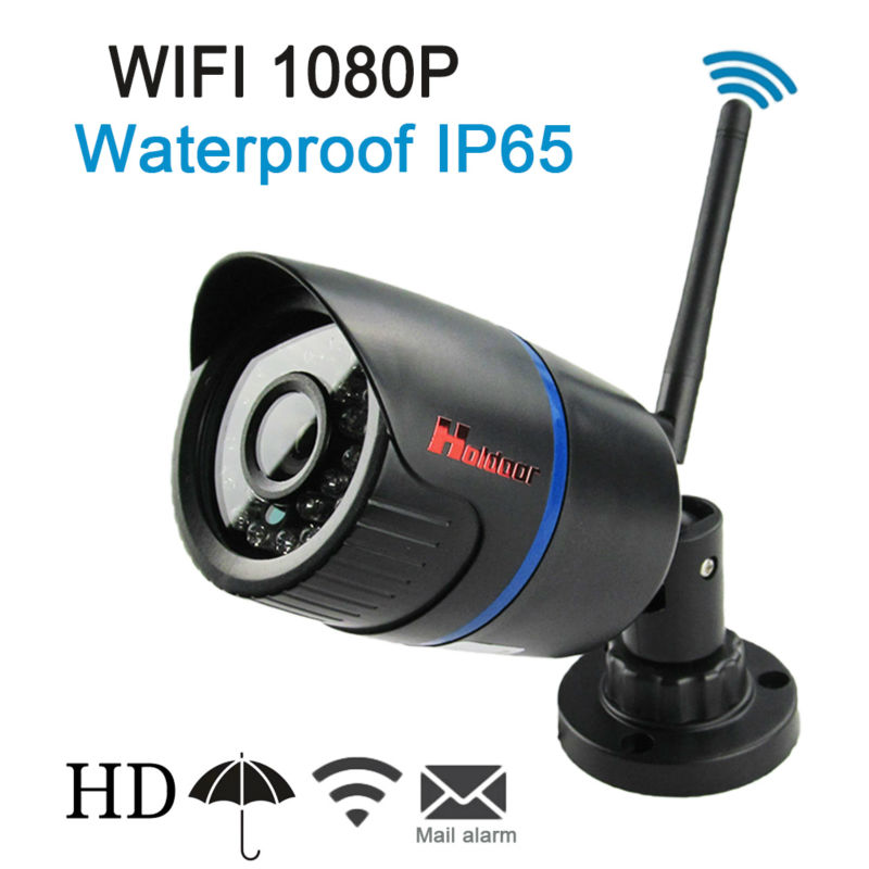 ФОТО Wifi Hd 1080p Bullet Ip Camera  Motion Detect Waterproof IP65 Wireless 24 Infrared Night Vision Special Offer Freeshipping Hot
