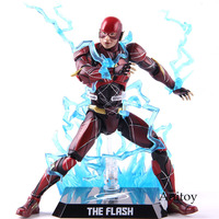 DC Justice League The Flash Tactical Armor DAH 006 Action Figure 1/9th Scale PVC Collectible Model Toy