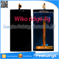 "5""inch Touch Panel For Wiko Ridge 4G LCD Screen Digitizer Panel Display Replacement"