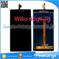 """5 """"polegadas digitador da tela de painel de toque para wiko ridge 4g lcd substituição visor do painel"""