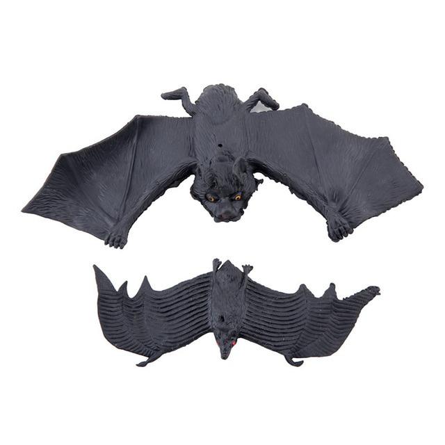 1 Pcs 14cm Jokes Gags Pranks Maker Trick Fun Novelty Funny Gadgets Blague Decoration Props Simulation Animals Bat Toy 1