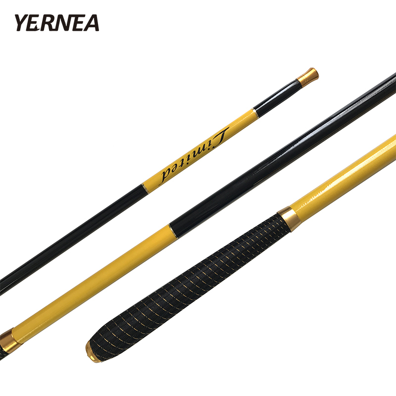 Yernea Carbon Fishing Rod Telescopic Ultra Light Carp Stream Hand Pole Feeder 2.4M-7.2M